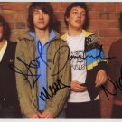 Arctic Monkeys FULLY SIGNED Photo 1st Generation PRINT Ltd 150 + Certificate (1)