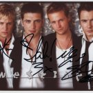 Westlife FULLY SIGNED Photo 1st Generation PRINT Ltd 150 + Certificate (5)