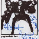 Psychedelic Furs SIGNED Photo 1st Generation PRINT Ltd 150 + Certificate (1)