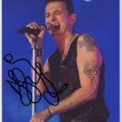 Dave Gahan SIGNED Photo 1st Generation PRINT Ltd 150 + Certificate (3)