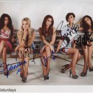 The Saturdays FULLY SIGNED Photo 1st Generation PRINT Ltd 150 + Certificate (3)