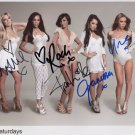 The Saturdays FULLY SIGNED Photo 1st Generation PRINT Ltd 150 + Certificate (2)