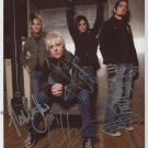 Madina Lake FULLY SIGNED Photo 1st Generation PRINT Ltd 150 + Certificate (3)