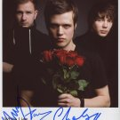 White Lies FULLY SIGNED Photo 1st Generation PRINT Ltd 150 + Certificate (2)