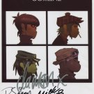 The Gorillaz SIGNED Photo 1st Generation PRINT Ltd 150 + Certificate (1)