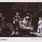 Talking Heads SIGNED Photo 1st Generation PRINT Ltd 150 + Certificate (2)