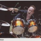Metallica Lars Ulrich SIGNED Photo 1st Generation PRINT Ltd 150 + Certificate (1)