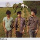 Jonas Brothers FULLY SIGNED Photo 1st Generation PRINT Ltd 150 + Certificate (1)