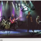 Deep Purple FULLY SIGNED Photo 1st Generation PRINT Ltd 150 + Certificate (1)