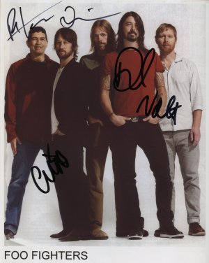 The Foo Fighters FULLY SIGNED Photo 1st Generation PRINT Ltd 150 + Certificate (6)