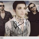 Placebo FULLY SIGNED Photo 1st Generation PRINT Ltd 150 + Certificate (4)