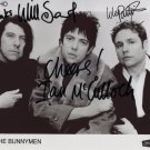 Echo & The Bunnymen SIGNED Photo 1st Generation PRINT Ltd 150 + Certificate (1)