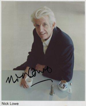 Nick Lowe SIGNED Photo 1st Generation PRINT Ltd 150 + Certificate (1)
