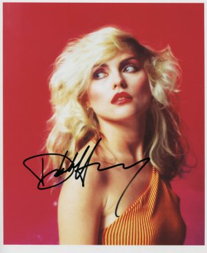Deborah Harry Blondie SIGNED Photo 1st Generation PRINT Ltd 150 + Certificate (2