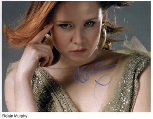 Roisin Murphy SIGNED Photo 1st Generation PRINT Ltd 150 + Certificate (1)
