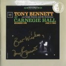 Tony Bennett SIGNED CD Album + Certificate Of Authentication 100% Genuine