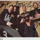 Mastodon FULLY SIGNED Photo 1st Generation PRINT Ltd 150 + Certificate (1)