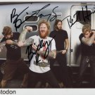 Mastodon FULLY SIGNED Photo 1st Generation PRINT Ltd 150 + Certificate (2)