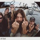 Lamb Of God FULLY SIGNED Photo 1st Generation PRINT Ltd 150 + Certificate (1)
