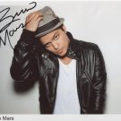 Bruno Mars SIGNED Photo 1st Generation PRINT Ltd 150 + Certificate (3)
