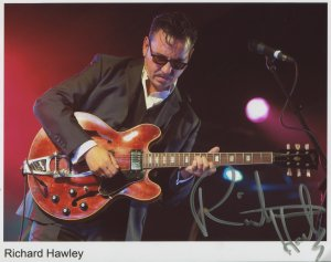 Richard Hawley SIGNED Photo 1st Generation PRINT Ltd 150 + Certificate (1)