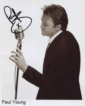 Paul Young SIGNED Photo 1st Generation PRINT Ltd 150 + Certificate (1)