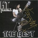 KT Tunstall SIGNED 2CD Album Set + Certificate Of Authentication 100% Genuine