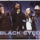 "Black Eyed Peas FULLY SIGNED 8"" x 10"" Photo + COA 100% Genuine"
