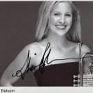 Alison Balsom SIGNED 8&quot; x 10&quot; Photo + Certificate Of Authentication 100% Genuine