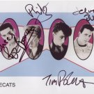 The Polecats FULLY SIGNED 8&quot; x 10&quot; Photo + Certificate Of Authentication 100% Genuine