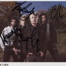 "Madina Lake FULLY SIGNED 8"" x 10"" Photo + Certificate Of Authentication  100% Genuine"