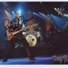 "Roger Glover Deep Purple SIGNED 8"" x 10"" Photo + Certificate Of Authentication 100% Genuine"