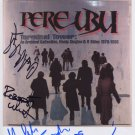"Pere Ubu FULLY SIGNED 8"" x 10"" Photo + Certificate Of Authentication 100% Genuine"