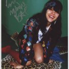 "Bat For Lashes Natasha Khan SIGNED 8"" x 10"" Photo + Certificate Of Authentication 100% Genuine"