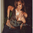 Rihanna SIGNED Photo + Certificate Of Authentication 100% Genuine