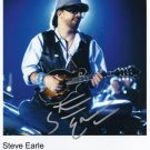 "Steve Earle SIGNED 8"" x 10"" Photo + Certificate Of Authentication  100% Genuine"