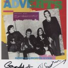 The Adverts Gaye Advert & TV Smith SIGNED Photo + Certificate Of Authentication  100% Genuine