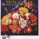 "The Teardrop Explodes FULLY SIGNED 8"" x 10"" Photo + Certificate Of Authentication 100% Genuine"