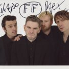 "Franz Ferdinand FULLY SIGNED 8"" x 10"" Photo + Certificate Of Authentication 100% Genuine"