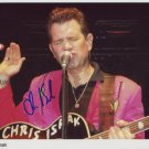 Chris Isaak SIGNED Photo + Certificate Of Authentication 100% Genuine
