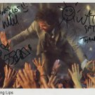 Flaming Lips FULLY SIGNED Photo + Certificate Of Authentication 100% Genuine