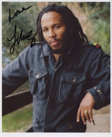 "Ziggy Marley SIGNED 8"" x 10"" Photo + Certificate Of Authentication 100% Genuine"