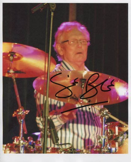 """Ginger Baker SIGNED 8"""" x 10"""" Photo + Certificate Of Authentication 100% Genuine"""