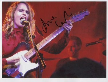 "Anna Calvi SIGNED 8"" x 10"" Photo + Certificate Of Authentication 100% Genuine"