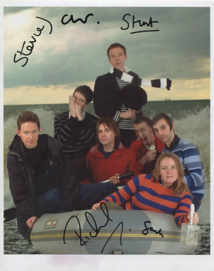 """Belle & Sebastian SIGNED 8"""" x 10"""" Photo + Certificate Of Authentication 100% Genuine"""