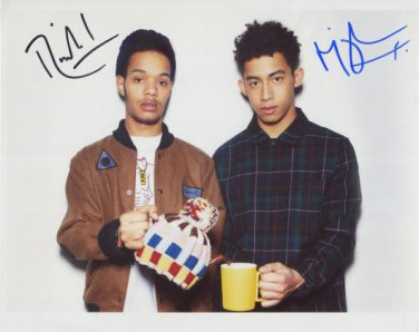 Rizzle Kicks FULLY SIGNED Photo + Certificate Of Authentication 100% Genuine