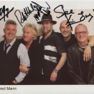 """Manfred Mann FULLY SIGNED 8"""" x 10"""" Photo + Certificate Of Authentication 100% Genuine"""