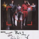Devo (Band) FULLY SIGNED Photo + Certificate Of Authentication  100% Genuine