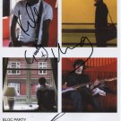 "Bloc Party FULLY SIGNED 8"" x 10"" Photo + Certificate Of Authentication  100% Genuine"