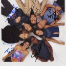"S Club 7 FULLY SIGNED 8"" x 10"" Photo + Certificate Of Authentication 100% Genuine"